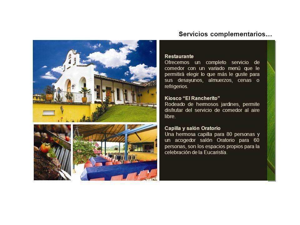 Vereda El Capiro, Kilómetro 6 vía La Ceja.Teléfonos: 539 04 40 – 5 39 04 38.