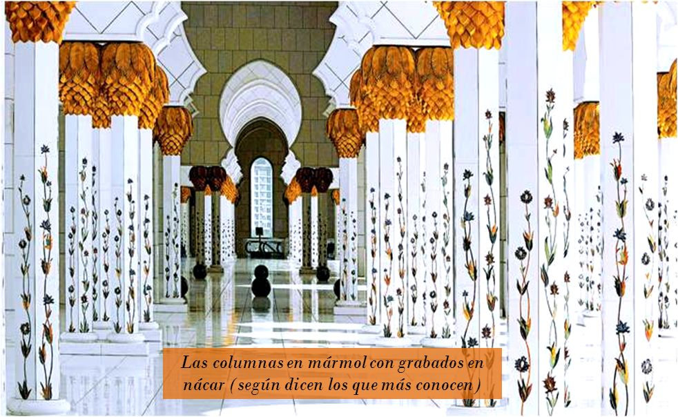 Un espectacular interior que alberga prodigiosas obras de diseño, como la alfombra más grande del mundo de más de 5.600 metros cuadrados, 47 toneladas
