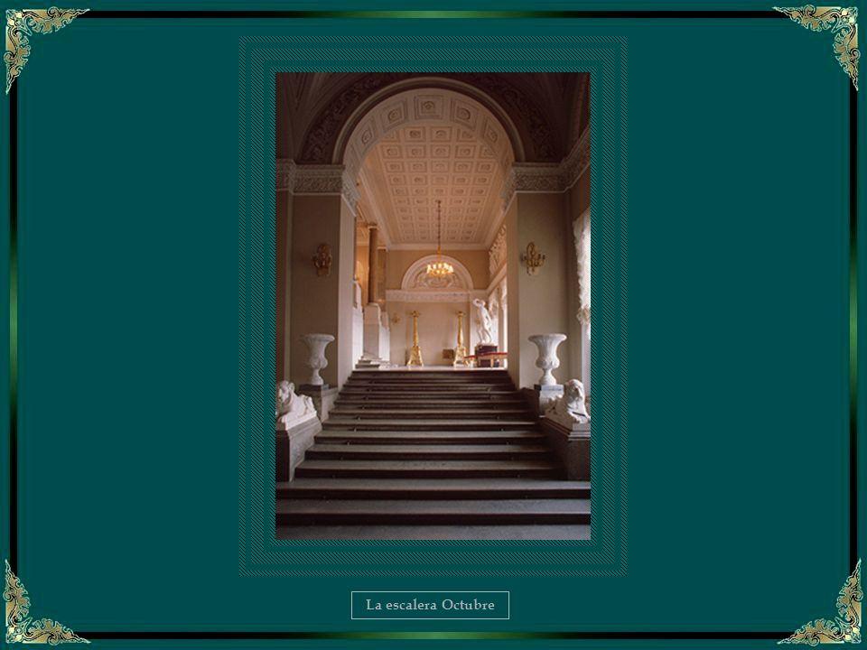 La Biblioteca de Nicolás II – Detalle del interior