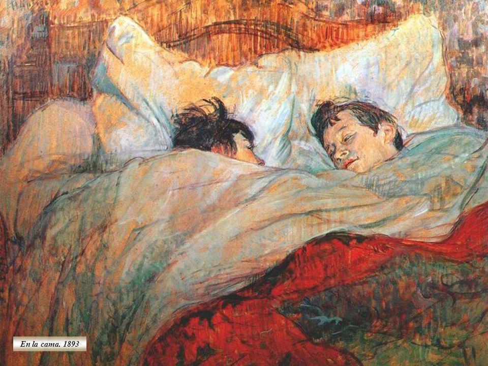 Retrato hecho por Giovanni Boldini En 1884 Henri va a vivir al barrio de Montmartre, donde tiene vecinos como Degas.