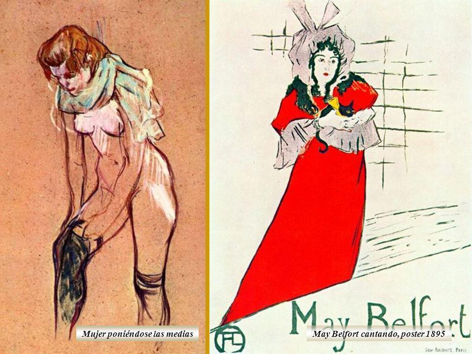 La obra de Toulouse-Lautrec se caracteriza por su estilo fotográfico, al que corresponden la espontaneidad y la capacidad de captar el movimiento en s