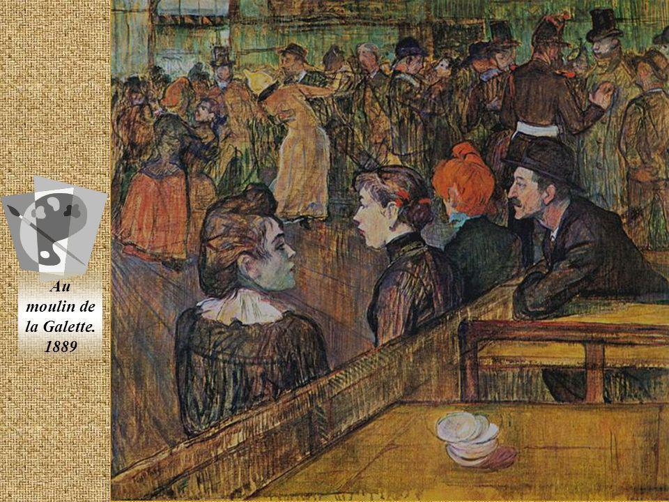 Henri Marie Raymond de Toulouse- Lautrec-Monfa 1864-1901 Pintor y cartelista francés que se destacó por su representación de la vida nocturna parisien