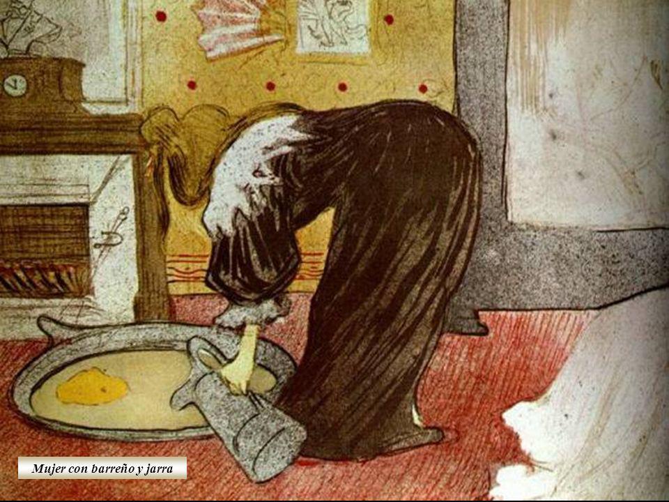El hombre del lavadero en el burdel Mujer desnuda