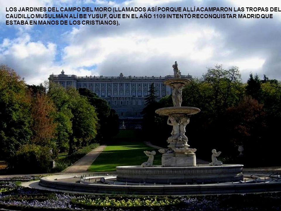 LAS OTRAS CARAS DEL PALACIO, SON: LA CATEDRAL DE LA ALMUDENA……