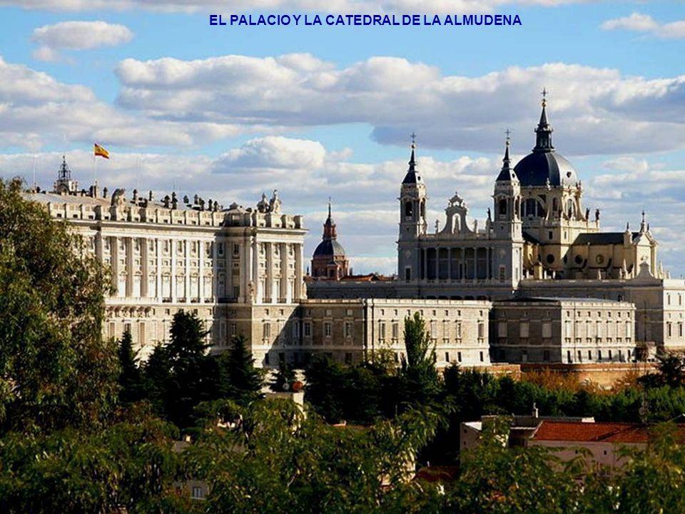 EL PALACIO Y LA CATEDRAL DE LA ALMUDENA
