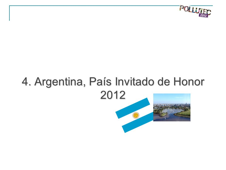 4. Argentina, País Invitado de Honor 2012