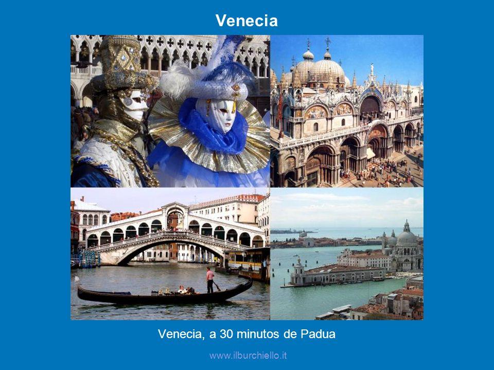 Padua La Basílica de San Antonio y el Prato della Valle www.ilburchiello.it