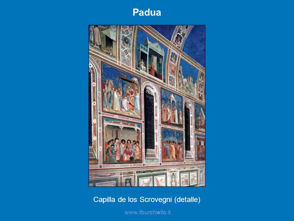 www.ilburchiello.it Padua Capilla de los Scrovegni (detalle)