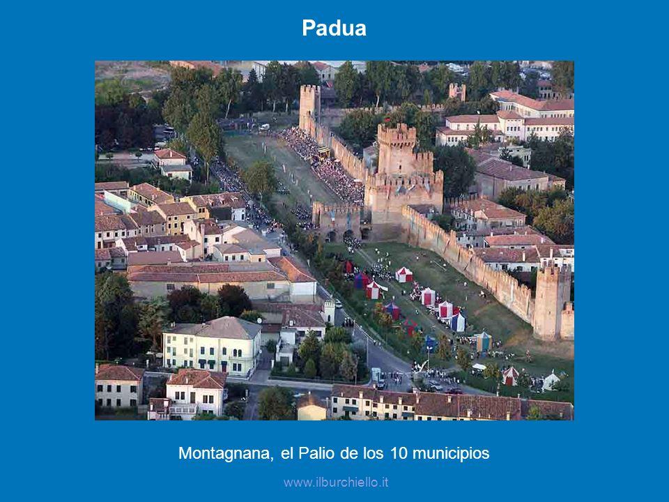 Padua Montagnana, el Palio de los 10 municipios www.ilburchiello.it