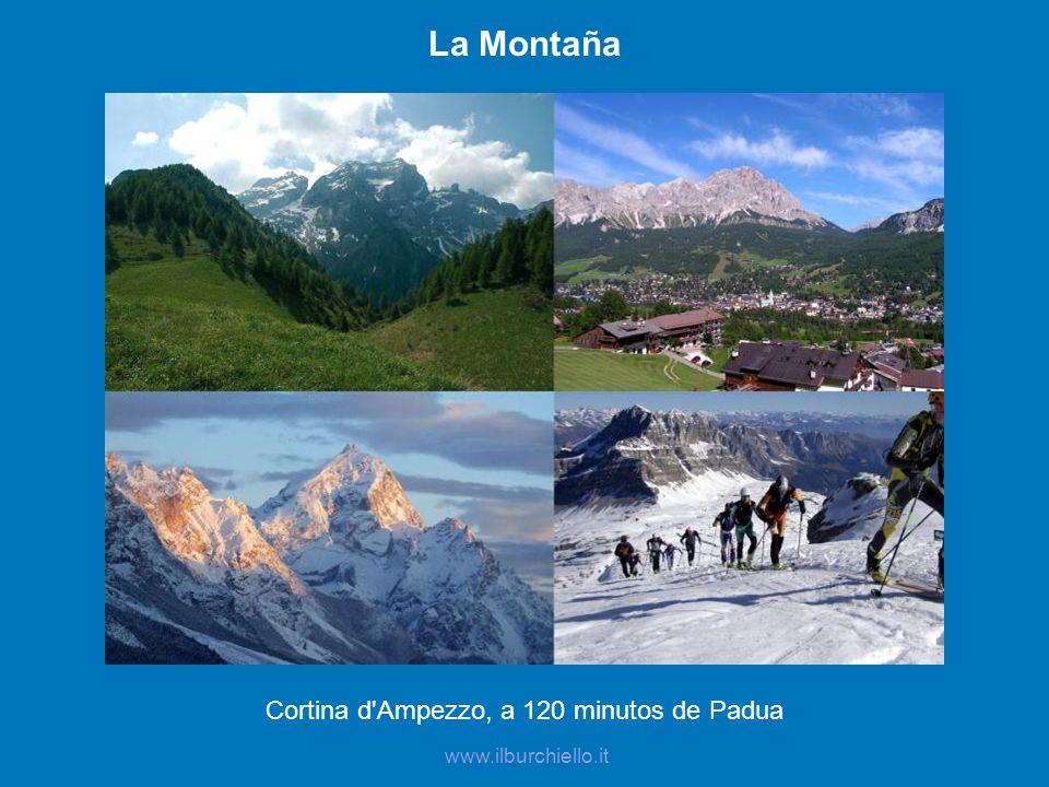 La Montaña Cortina d'Ampezzo, a 120 minutos de Padua www.ilburchiello.it