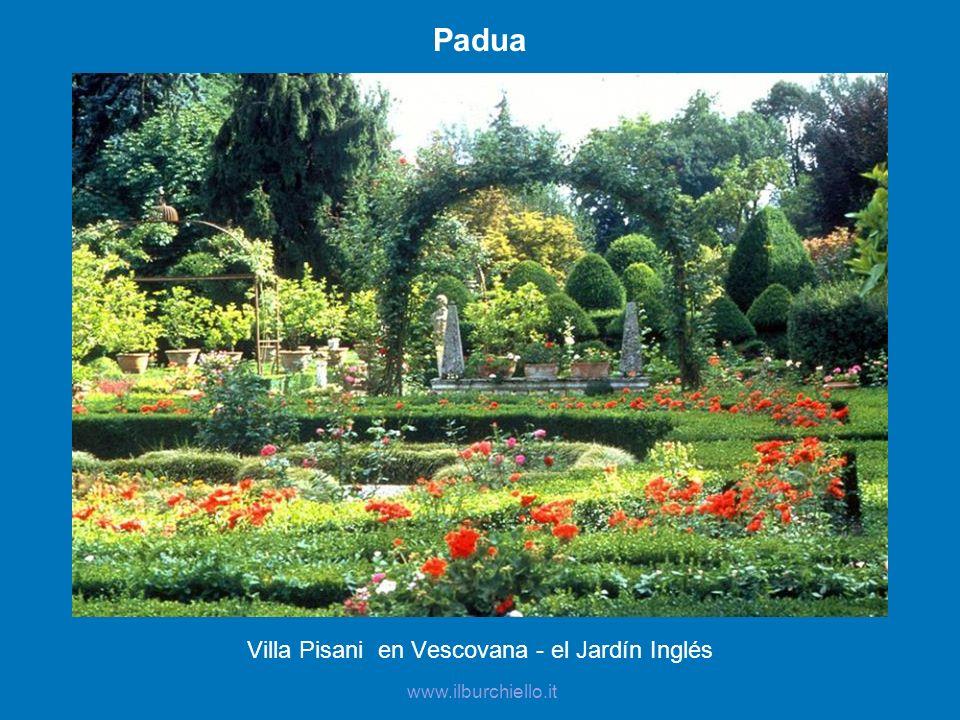 Padua Villa Pisani en Vescovana - el Jardín Inglés www.ilburchiello.it