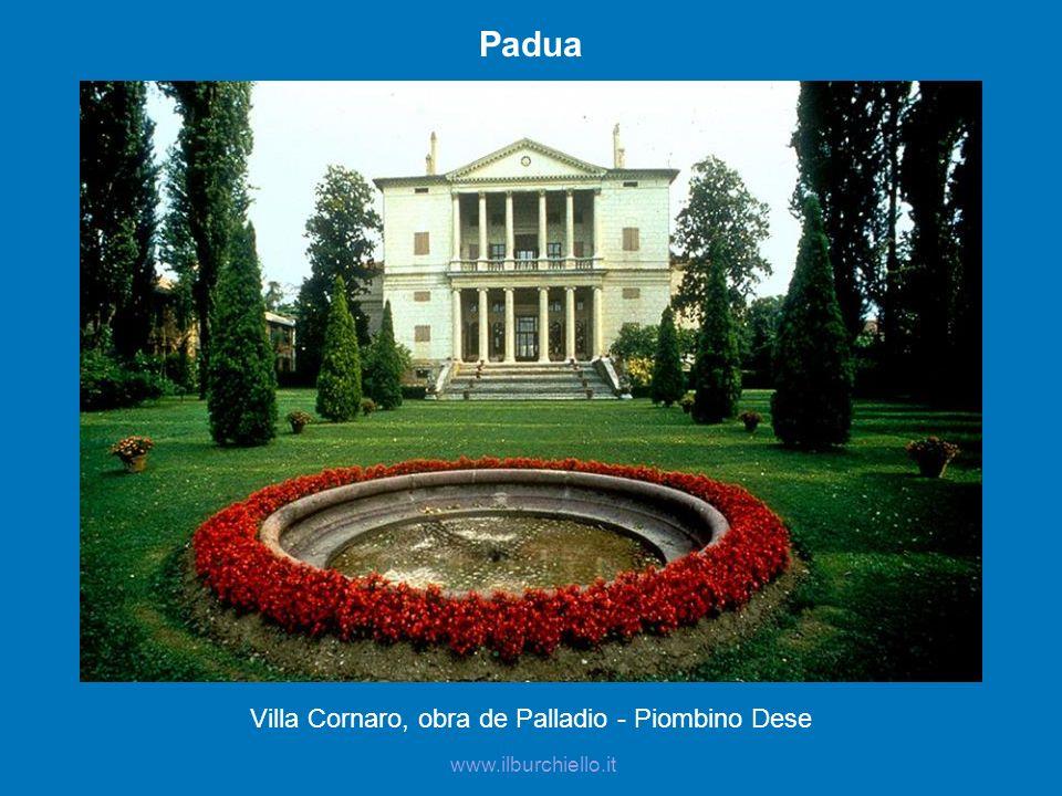 Padua Villa Cornaro, obra de Palladio - Piombino Dese www.ilburchiello.it