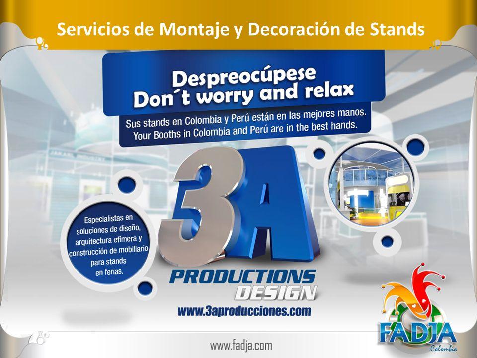 Servicios de Montaje y Decoración de Stands