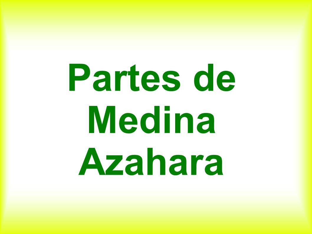 Partes de Medina Azahara