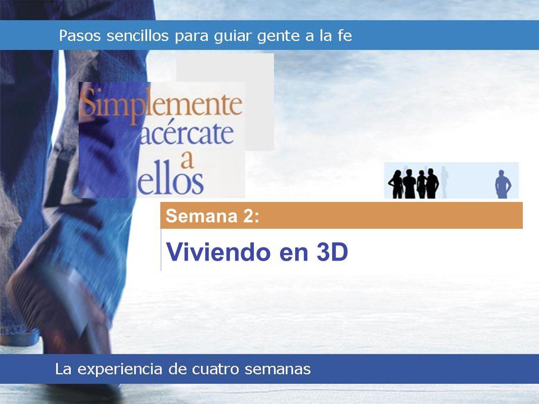 Living in 3D Semana 2: Viviendo en 3D