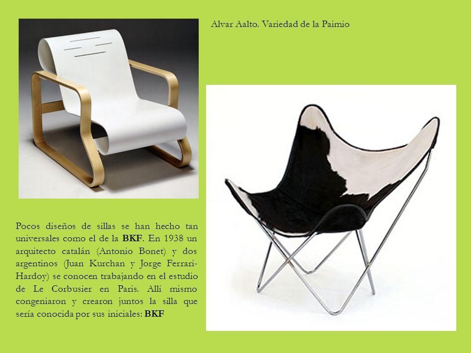 Pocos diseños de sillas se han hecho tan universales como el de la BKF.