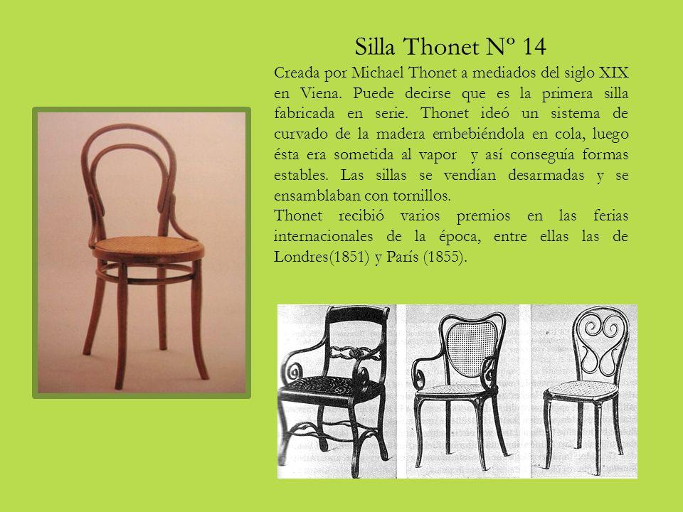 Silla Thonet Nº 14 Creada por Michael Thonet a mediados del siglo XIX en Viena.