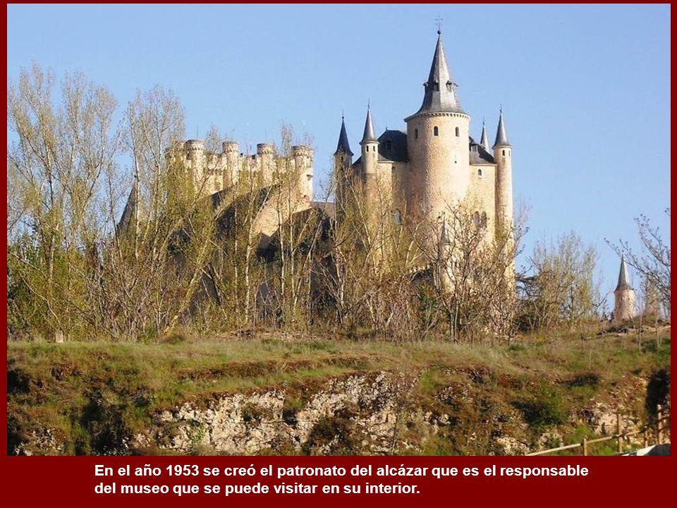 En el año 1953 se creó el patronato del alcázar que es el responsable del museo que se puede visitar en su interior.
