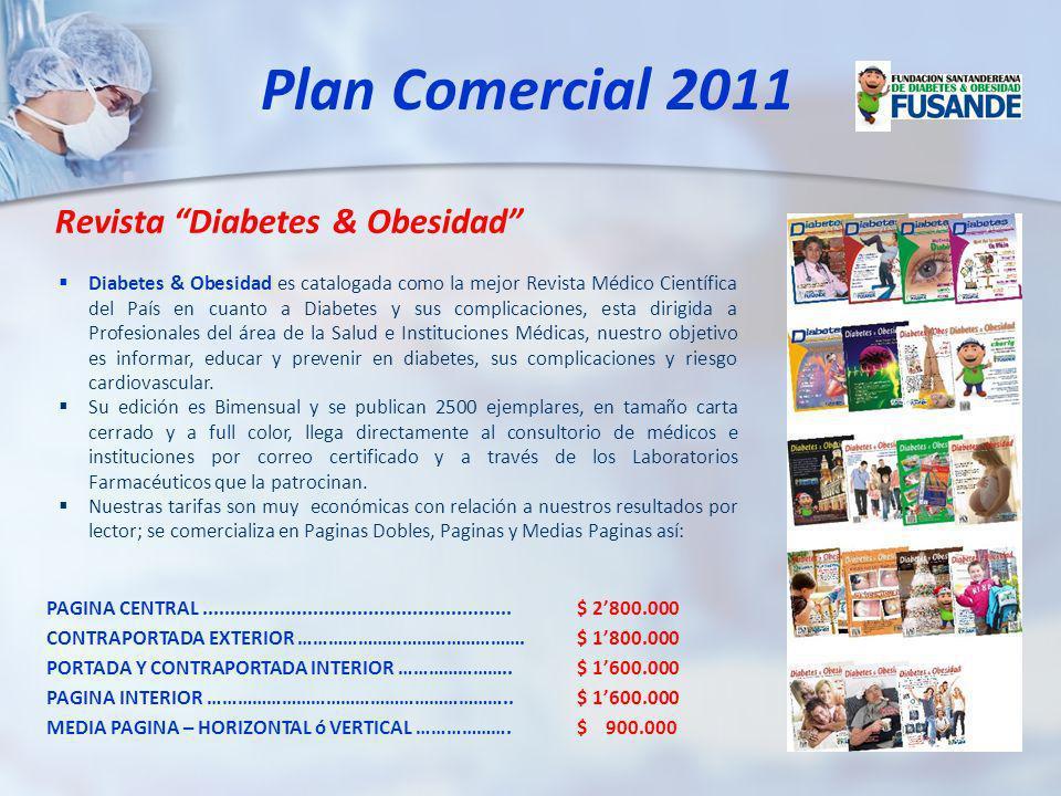 Diabetes & Obesidad es catalogada como la mejor Revista Médico Científica del País en cuanto a Diabetes y sus complicaciones, esta dirigida a Profesio