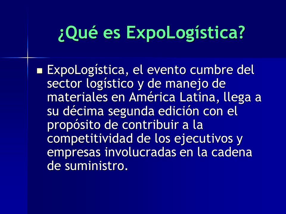 ¿Qué es ExpoLogística.