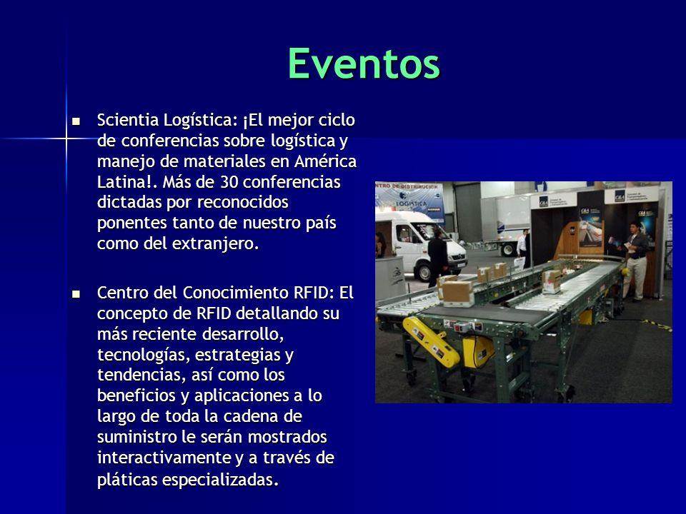 Eventos Scientia Logística: ¡El mejor ciclo de conferencias sobre logística y manejo de materiales en América Latina!.
