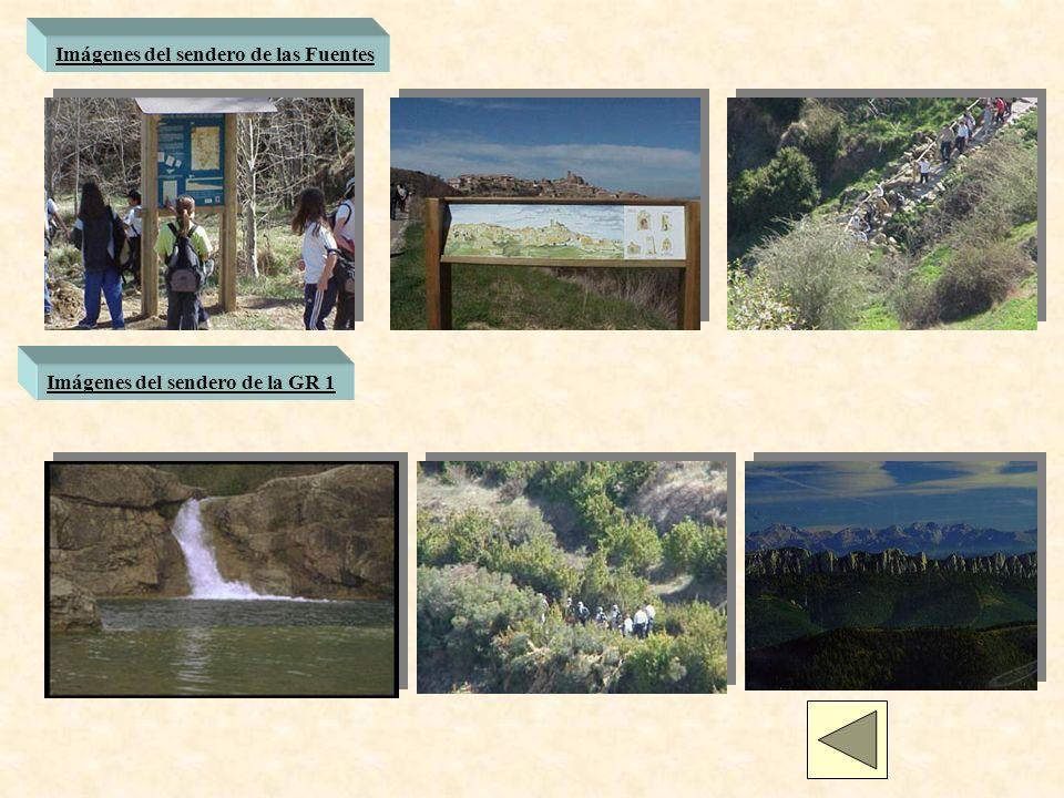 Imágenes del sendero de las Fuentes Imágenes del sendero de la GR 1