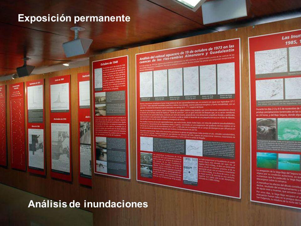 Exposición permanente Análisis de inundaciones