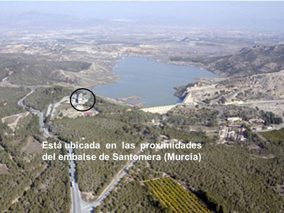 Está ubicada en las proximidades del embalse de Santomera (Murcia)