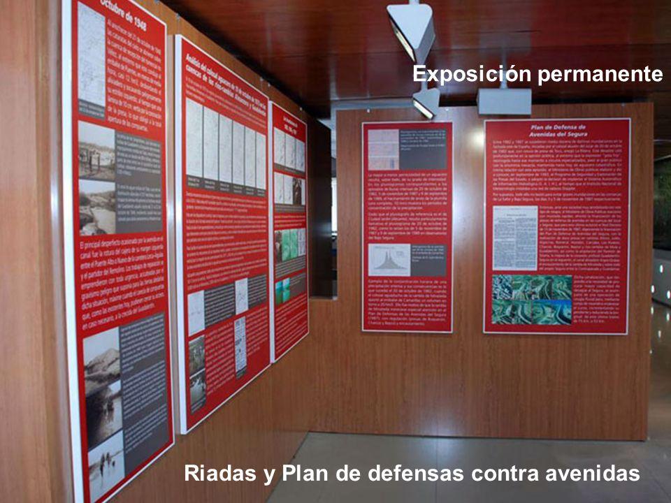 Exposición permanente Riadas y Plan de defensas contra avenidas
