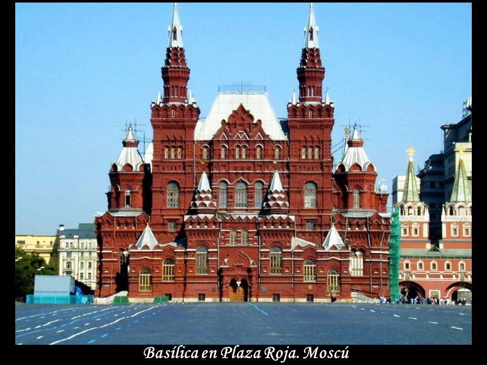 Cúpulas. Moscú