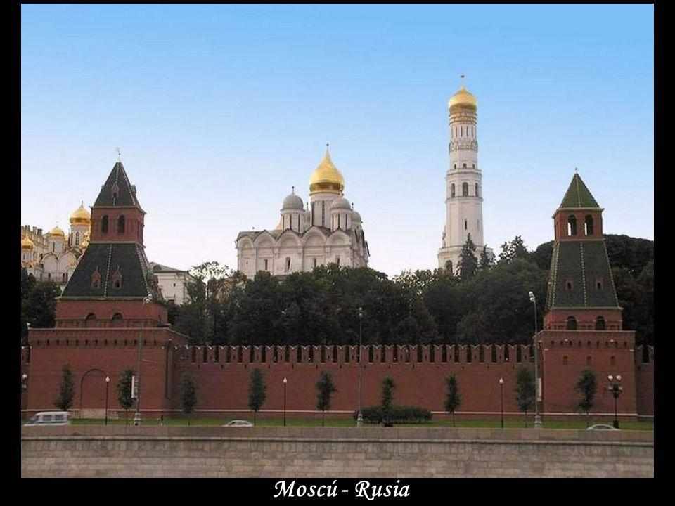 Basílica en Plaza Roja. Moscú
