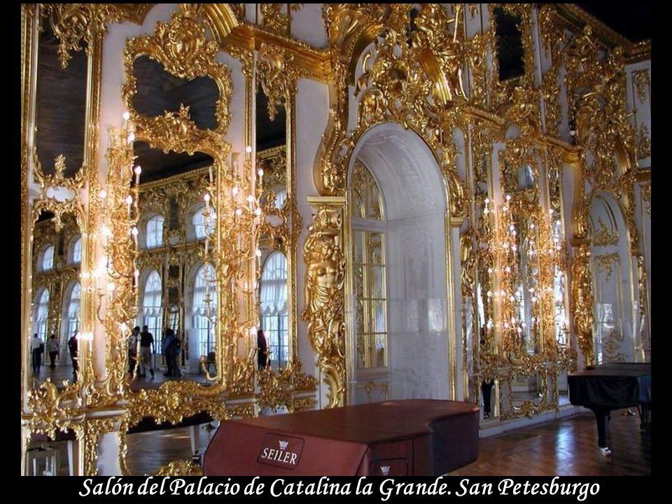 Parque del Palacio de Catarina la Grande. San Petesburgo