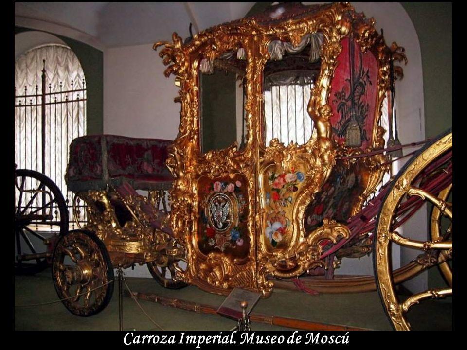 Carroza Imperial. Museo de Moscú
