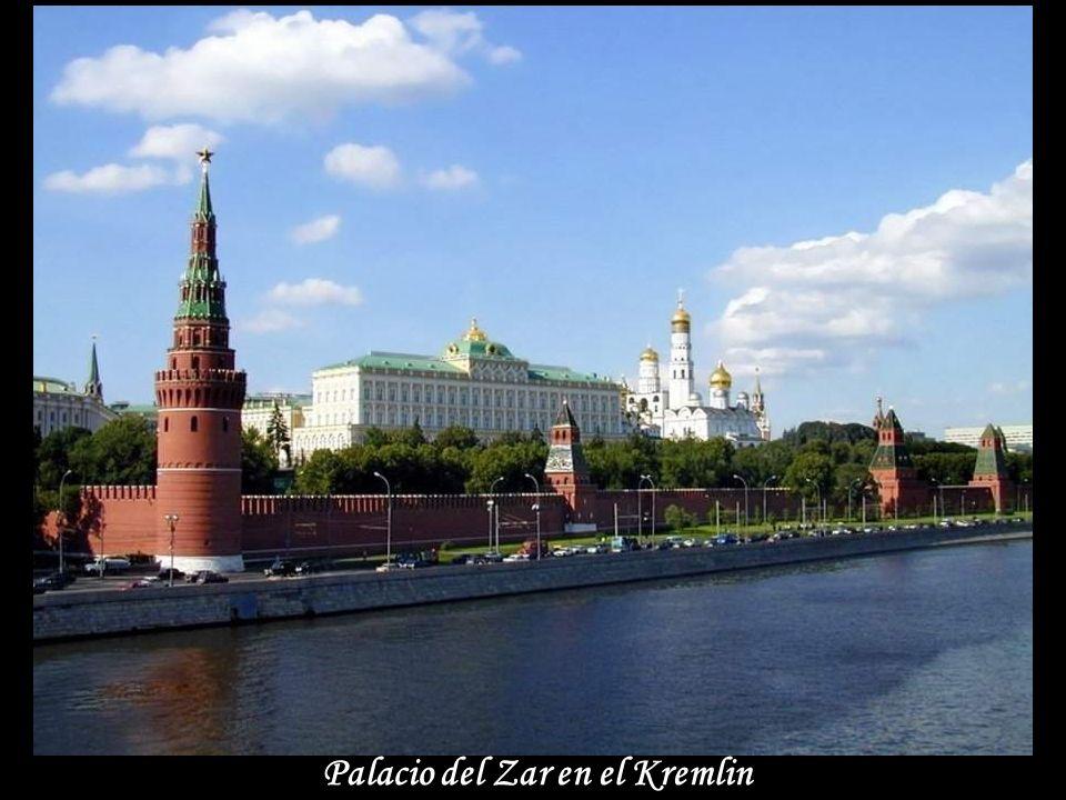 Palacio del Zar en el Kremlin