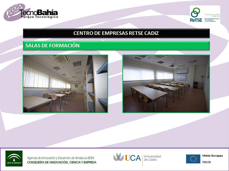 CENTRO DE EMPRESAS RETSE CADIZ SALAS DE FORMACIÓN