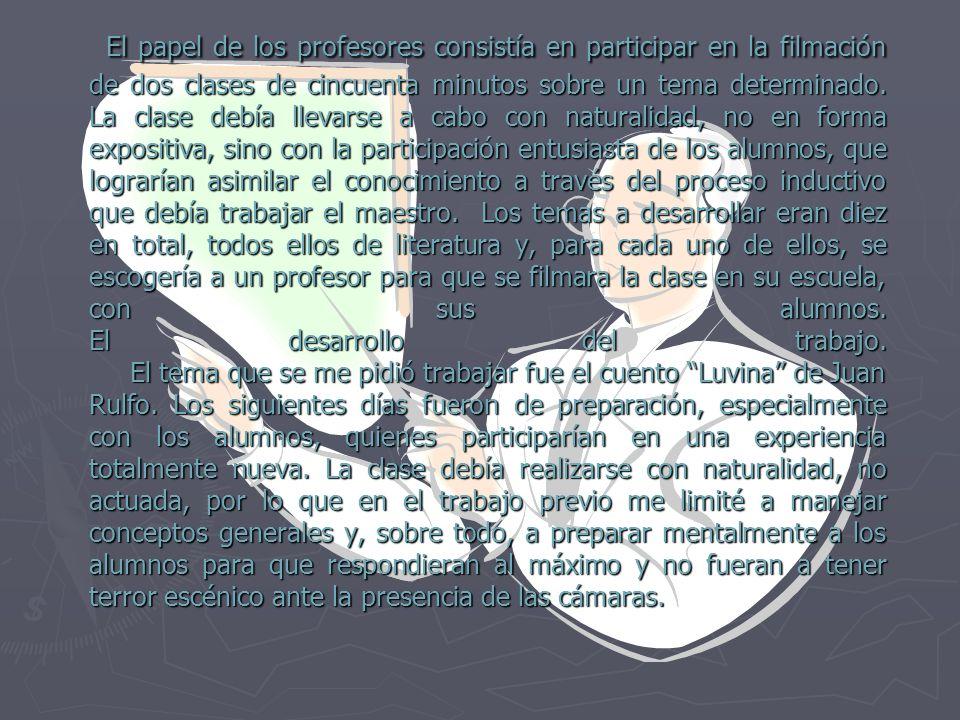 PROYECTO.- CLASE MODELO Luvina de Juan Rulfo Antecedentes.