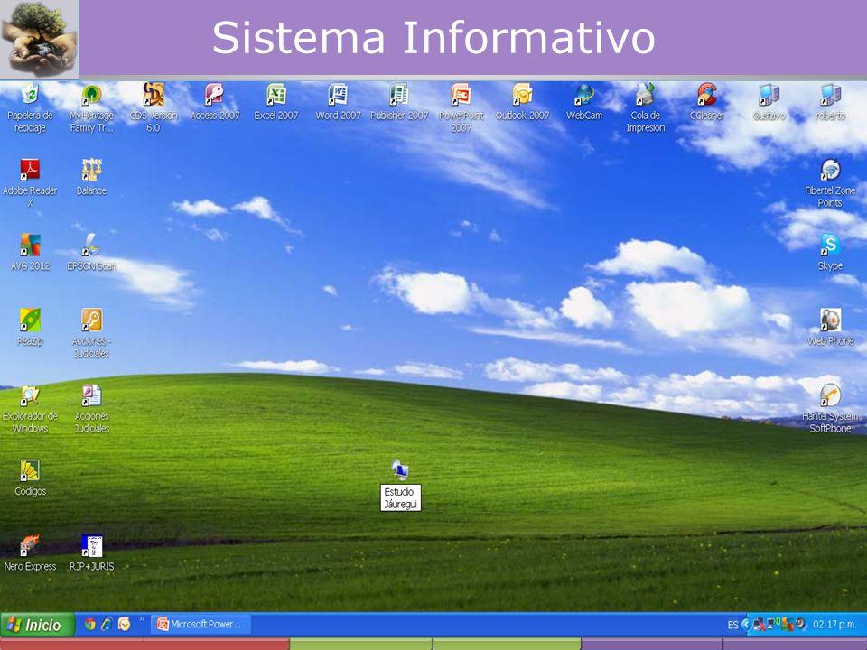 Servicio de Asesoría y Gestoría ÁREA PREVISIONAL Sistema Informativo
