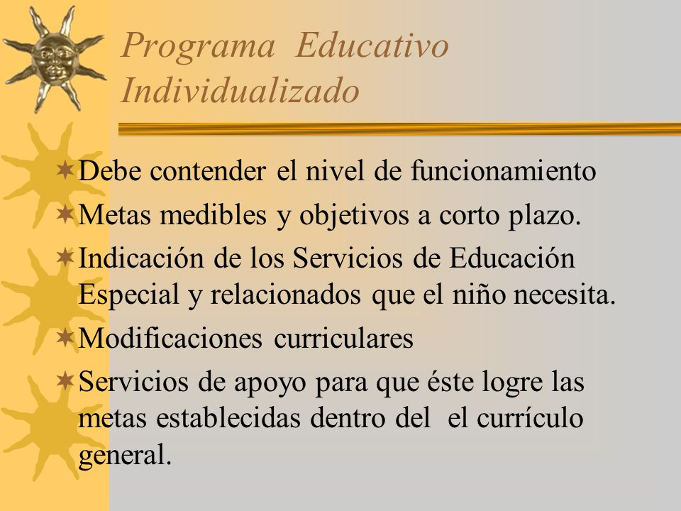 Participación del Maestro Regular en la Preparación del PEI Desarrollo y revisión Coolaborar en la determinación de intervenciones y estrategias posit