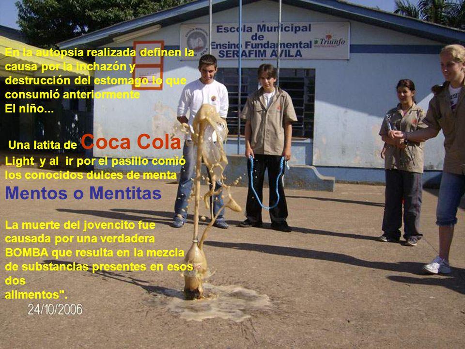 En abril del pasado año, un niño de 10 años, estudiante en el colegio Dante Alighieri en São Paulo/Brasil, sin problema de salud, cayo inconciente en