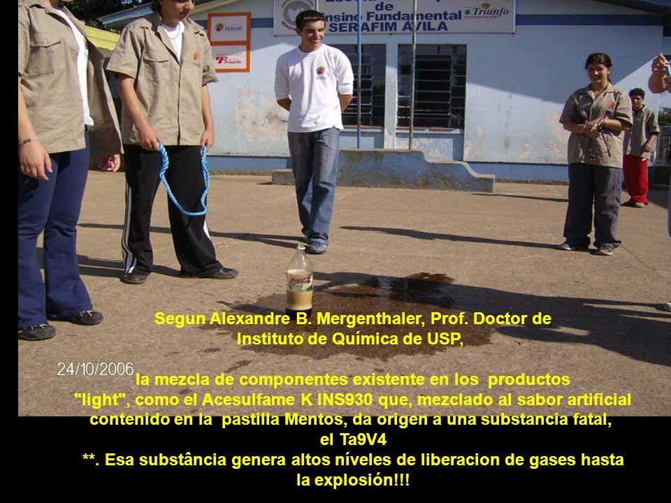 En la autopsia realizada definen la causa por la inchazón y destrucción del estomago lo que consumió anteriormente El niño... Una latita de Coca Cola