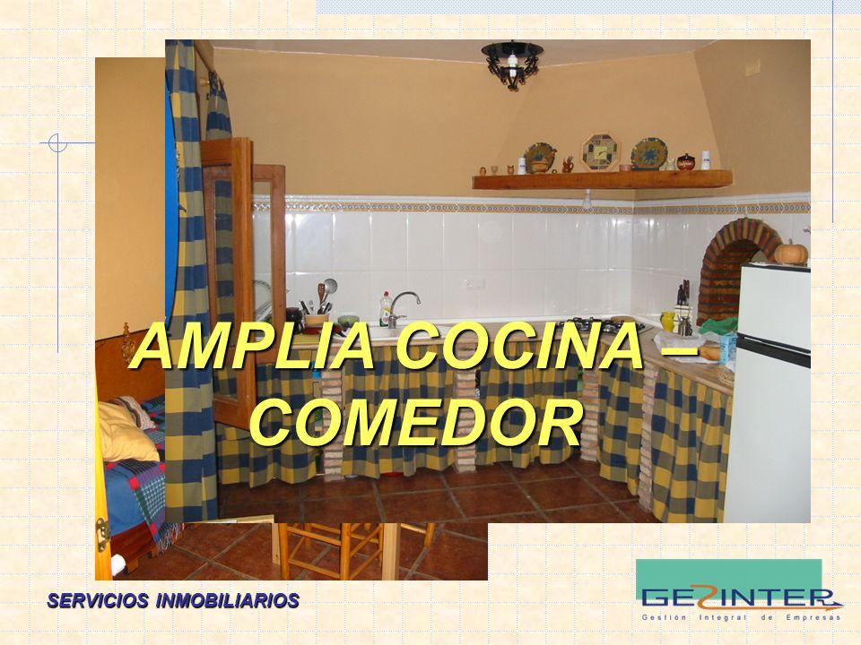 AMPLIA COCINA – COMEDOR