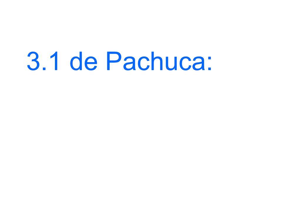 3.1 de Pachuca: