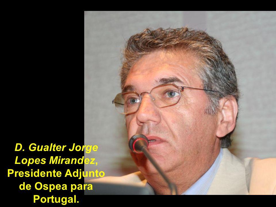 El Sr. D. Joaquín Vicente Nuñez, Presidente de Ospea (Organización Supranacional de Pymes del Eje Atlántico) destacó a la ruta jacobea como elemente d