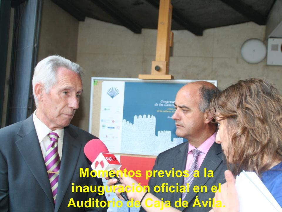 El fin de semana del 26 al 28 de junio del 2009 se ha celebrado el VI Congreso Internacional de los Caminos de Santiago, organizado por la Organizació