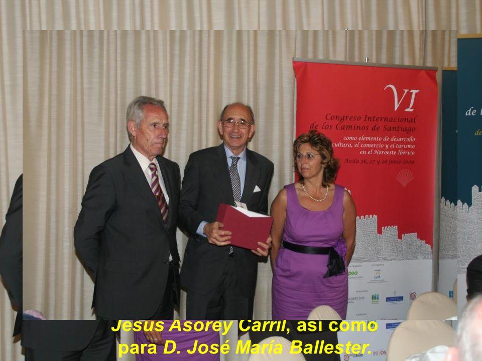 …donde el Sr. Alcalde, ofreció unas palabras sobre esta acogedora ciudad de puertas abiertas, que es Ávila.