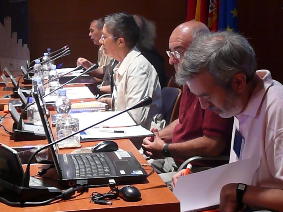 Sr. D. Antonio Cebrián Villadre, representante de la Asociación Senderista Camino de Santiago de la Roda.