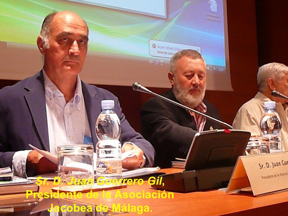 Moderador: Sr. D. Juan Ramos Plaza, Presidente de la Asociación de Amigos del Camino de Santiago en Sevilla.