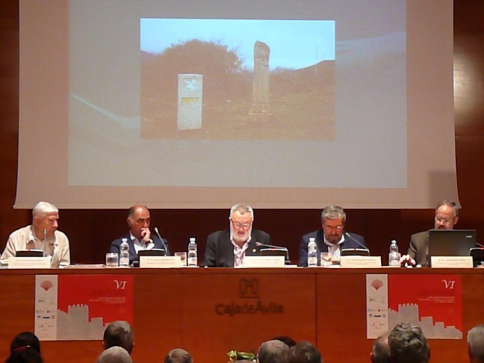 Sr. D. Juan Guerrero Gil, Presidente de la Asociación Jacobea de Málaga.