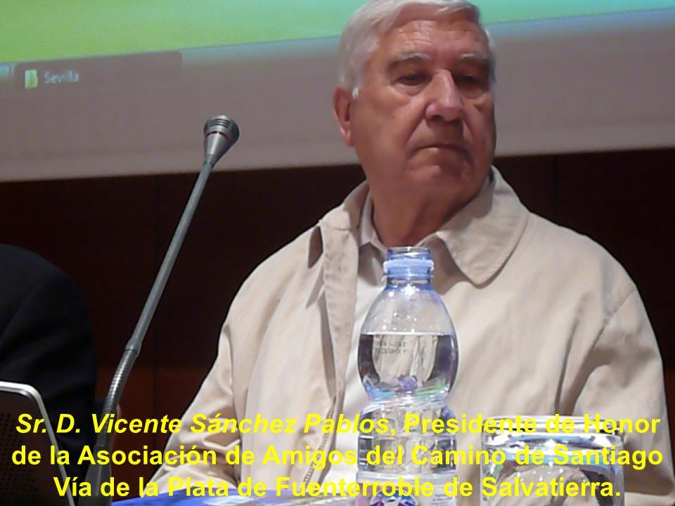 Sr. D. Isidro Rodríguez Rodríguez, Presidente de la Asociación de Amigos del Camino de Santiago de Córdoba.