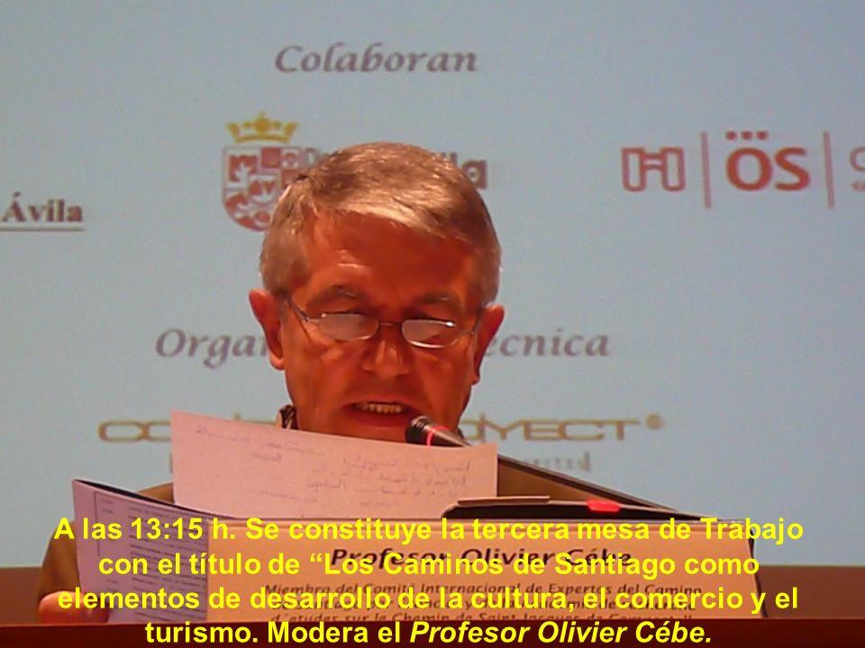 Sr. D. José Antonio Quintas Vázquez, Junta Directiva de la Asociación Via da Prata de Ourense.